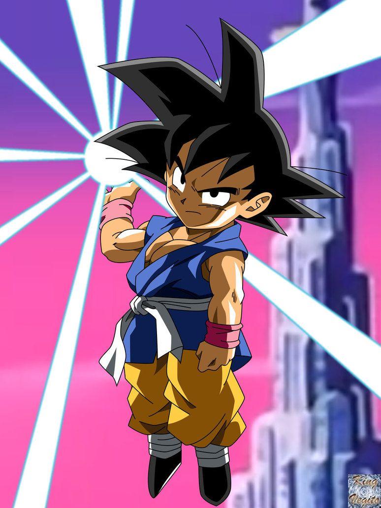 Goku Gt Restored By Kingvegito On Deviantart Dragonball Dragon