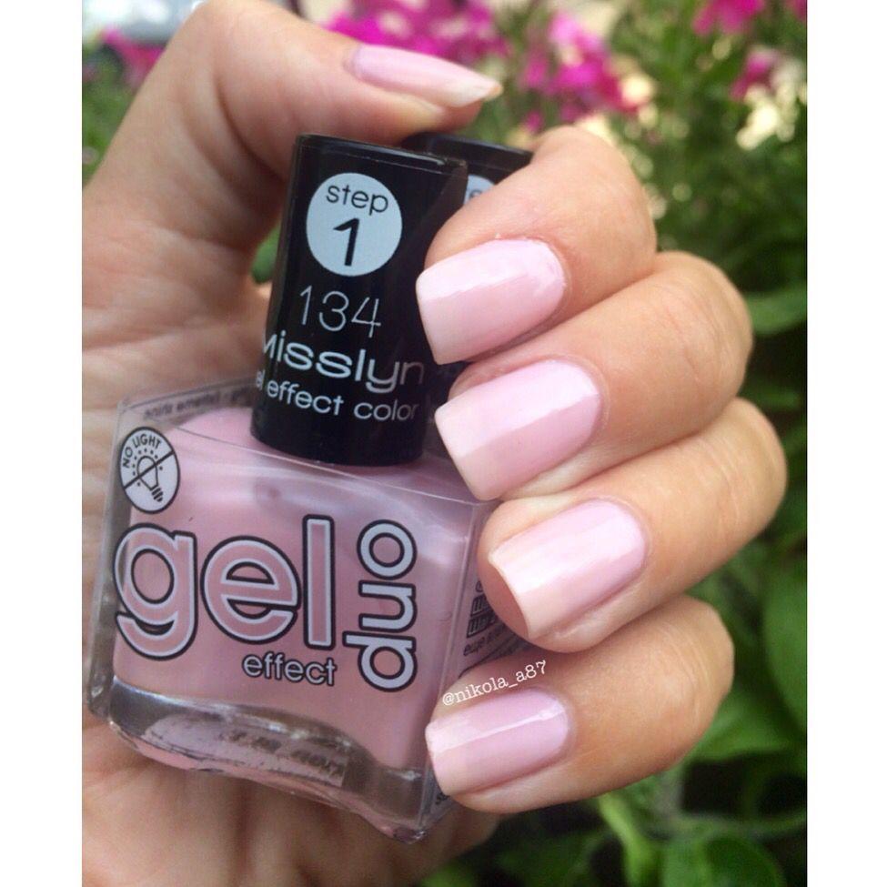 Misslyn gel effect duo - beautify me - 134 Schöne glänzende Nägel ...