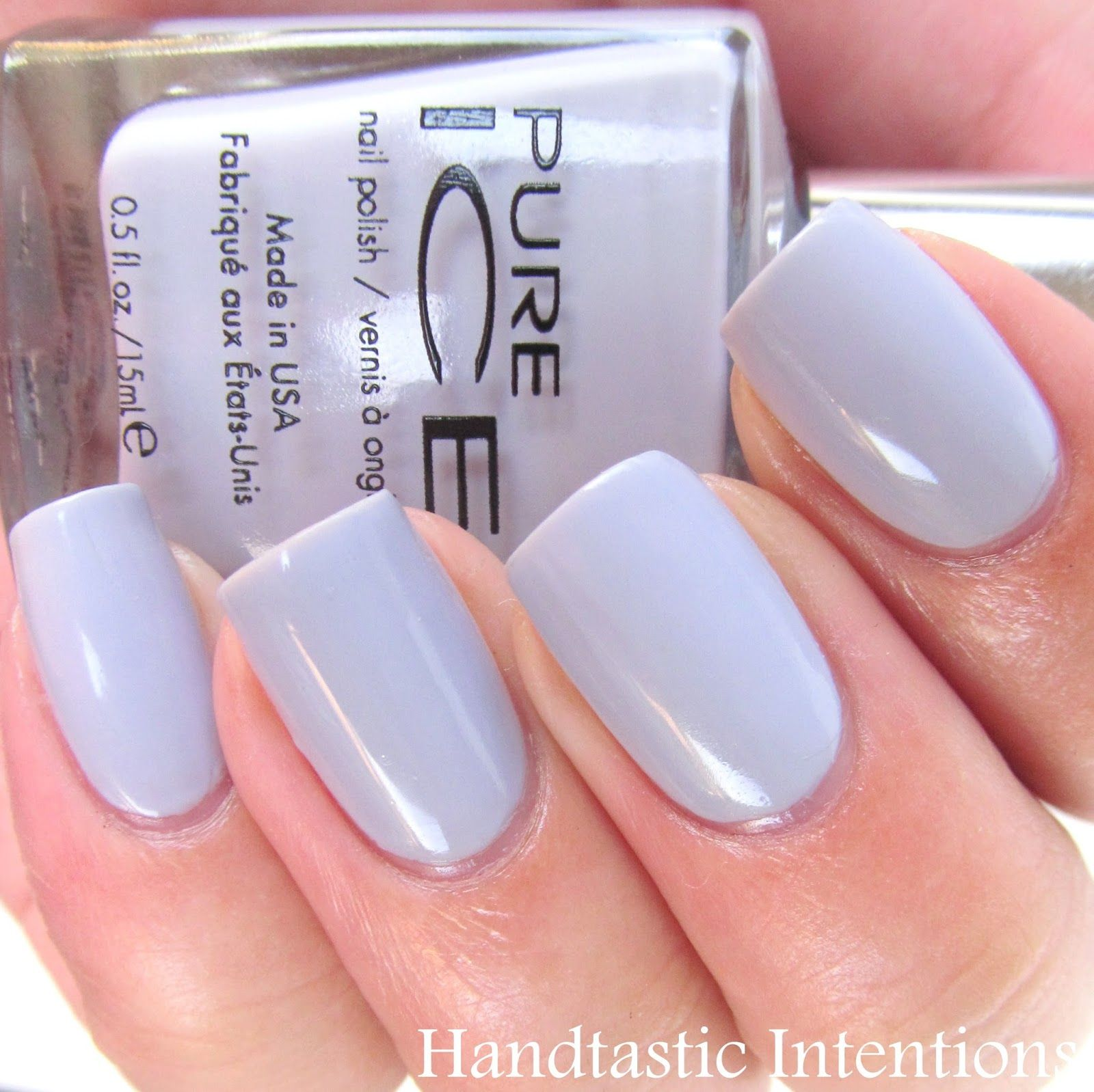 Handtastic Intentions: Swatch and Review of Pure Ice: Laven-Dare ...