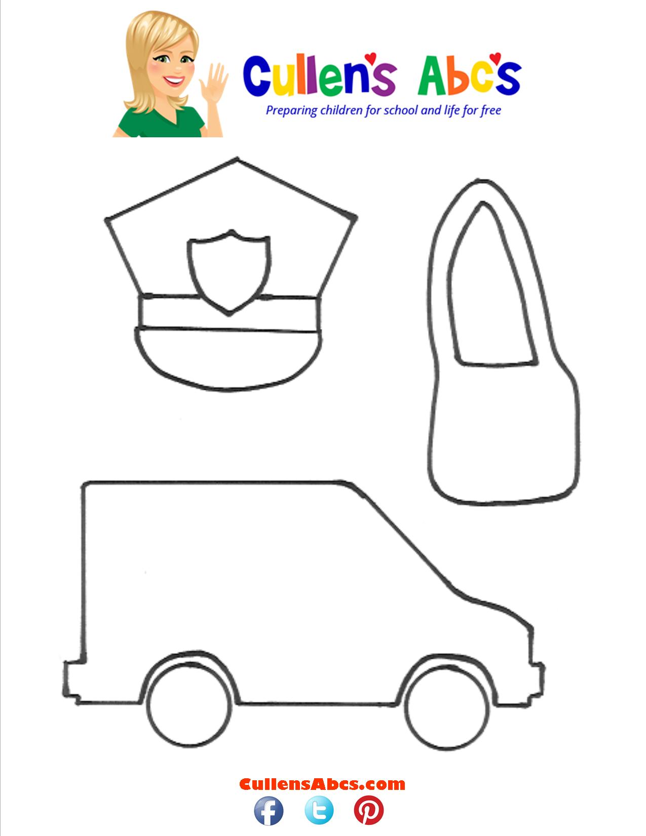 Mail Carrier Art Pattern