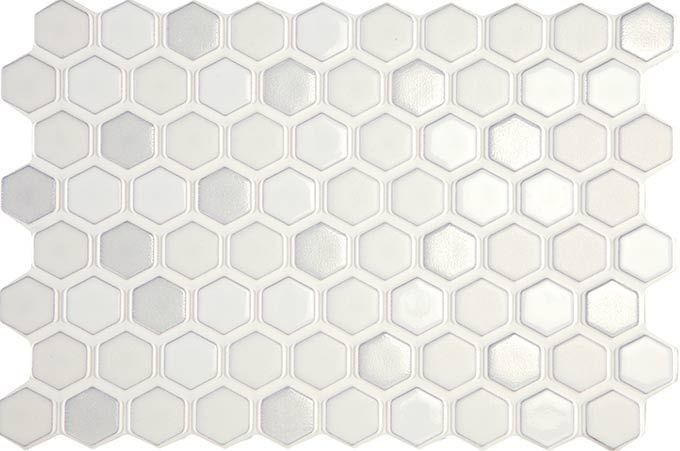 Carrelage design mural brillant blanc 20 x 20 cm for Carrelage mural blanc 11x11