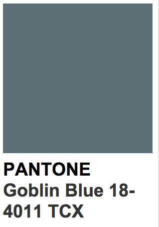 ee6e51b098f Bilderesultat for pantone goblin blue | pantone in 2019 | Color ...