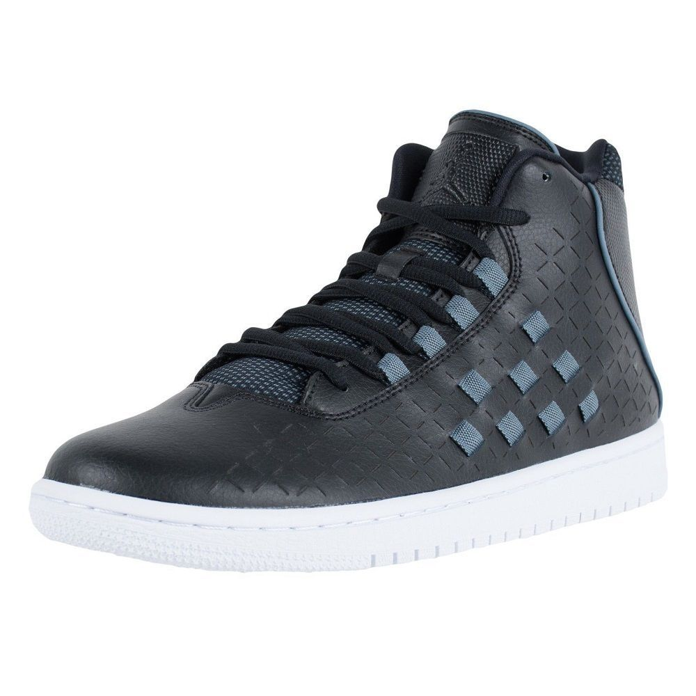 brand new c53d0 6cec8 Nike Men s Jordan Illusion Basketball Shoes 705141 002 Black Blue Size 12   NikeAir