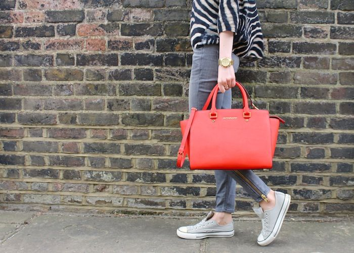 My Style The Michael Kors Selma Bag And Casual Converse Sneakers
