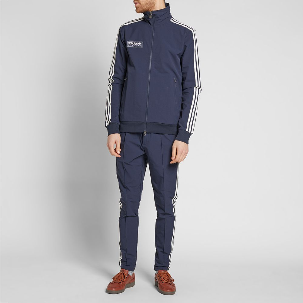 832e20b0b3 adidas' Spezial line SPZL Forest Gate Track Pant comes inspired by the  legendary Beckenbauer tracksuit