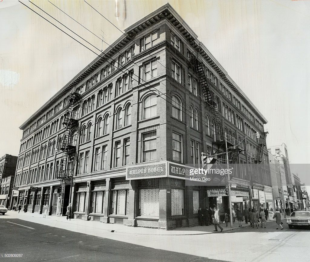 The Walper Hotel On The Main Street Of Kitchener Is A Tired