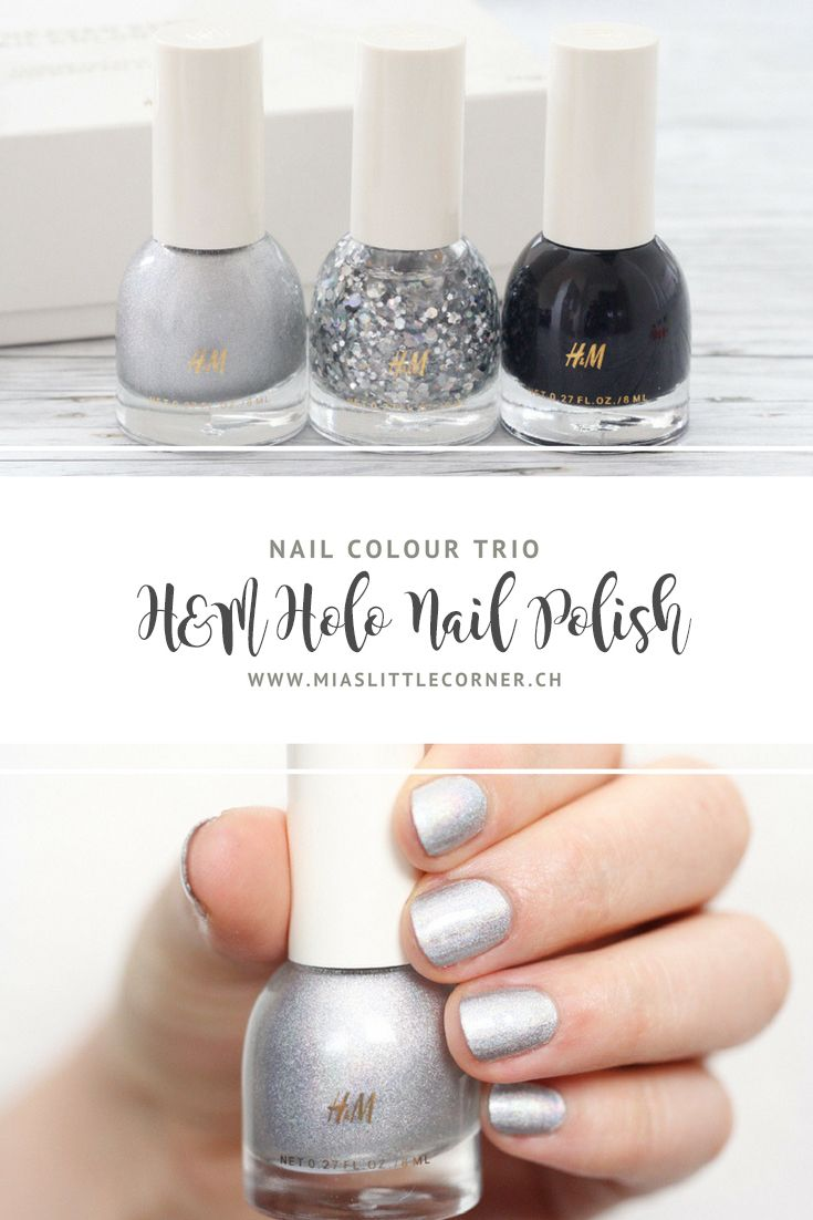 Quick Tip: H&M «Heaven Sent» Nail Colour Trio | Holographic nail ...