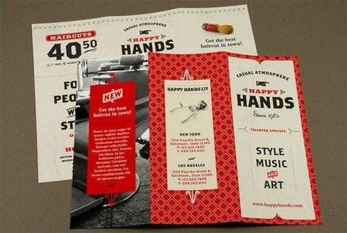 Realized I hadn\u0027t seen a nice tri-fold lately Hurray Good Design - retro brochure template