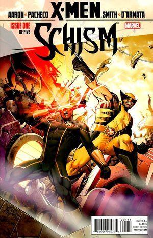 X Men Schism Vol 1 1 X Men Marvel Events Comics