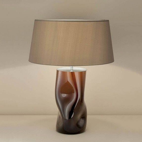 Charming This Glass Art Table Lamp From Chelsom Is Elegant And Unique. Use It To  Light