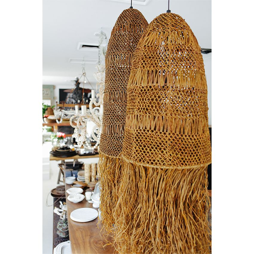 Manyara Home Lighting African Plaited Pendant Light