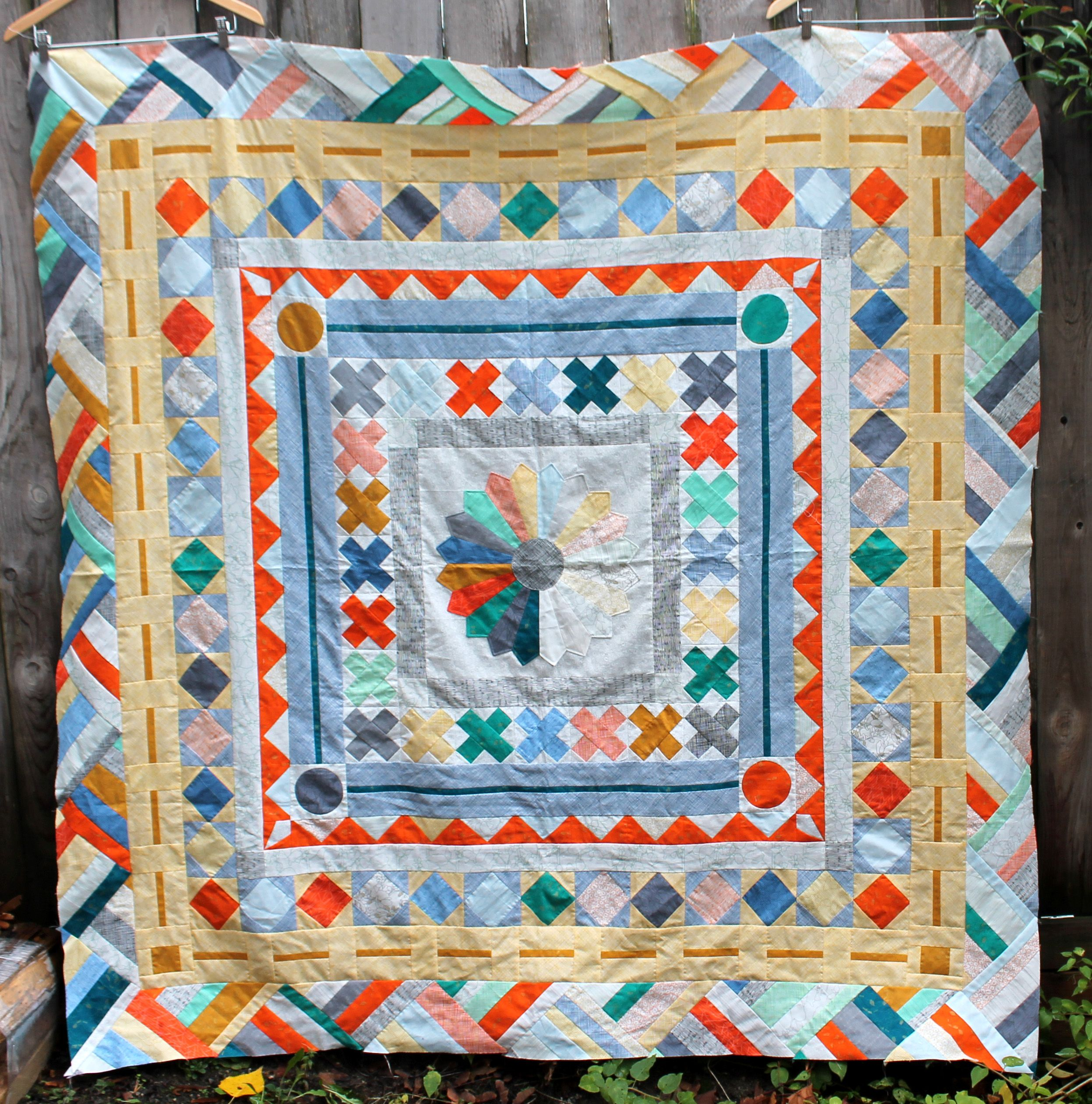 studio medallion karen little tag birdie quilting quilt mundt