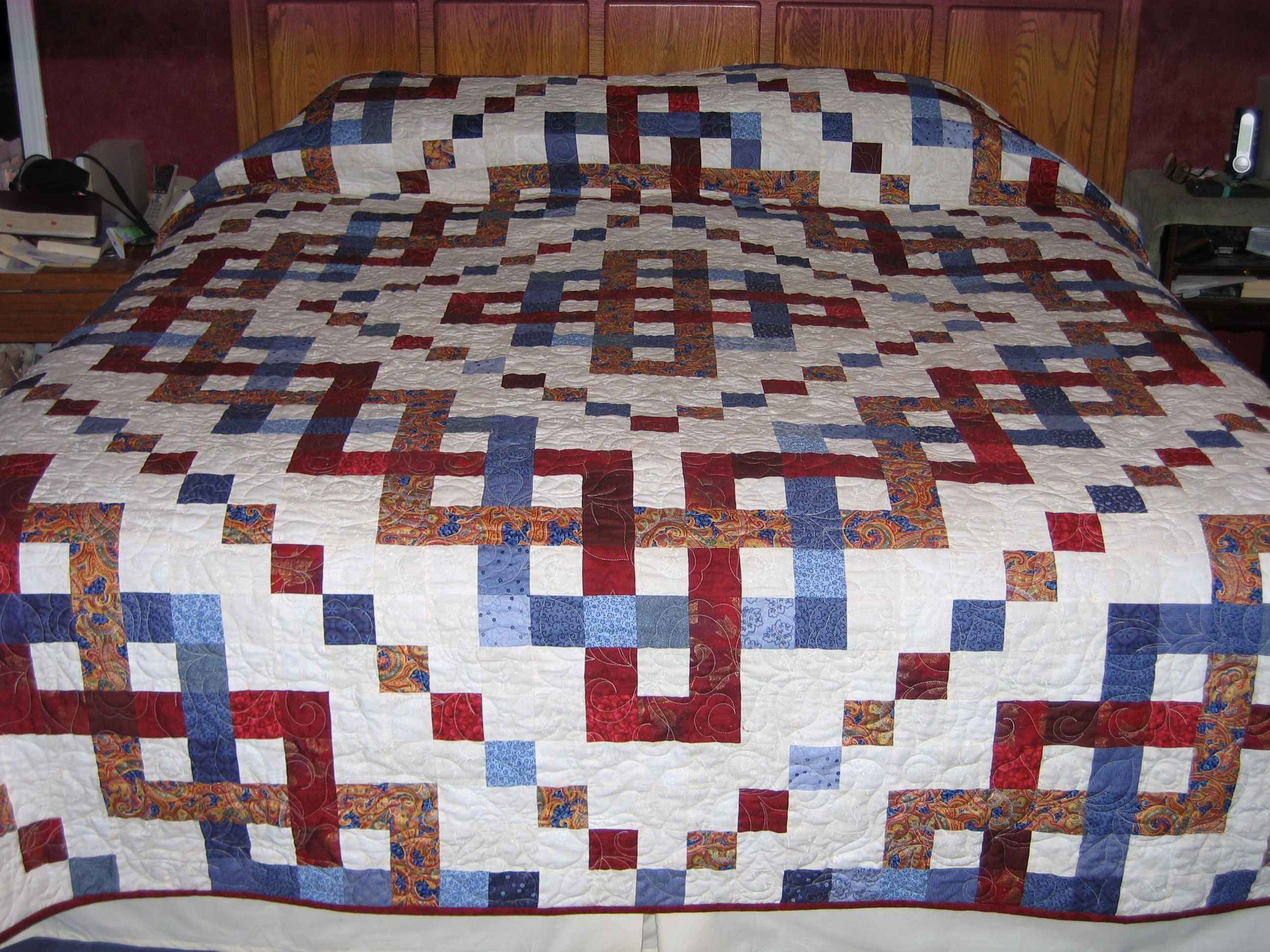 Irish Barn Quilt Patterns : CELTIC TRINITY KNOT QUILT QUILT SHOW QUILTS AND OTHER QUILTS FOR INSPIRATION Pinterest ...