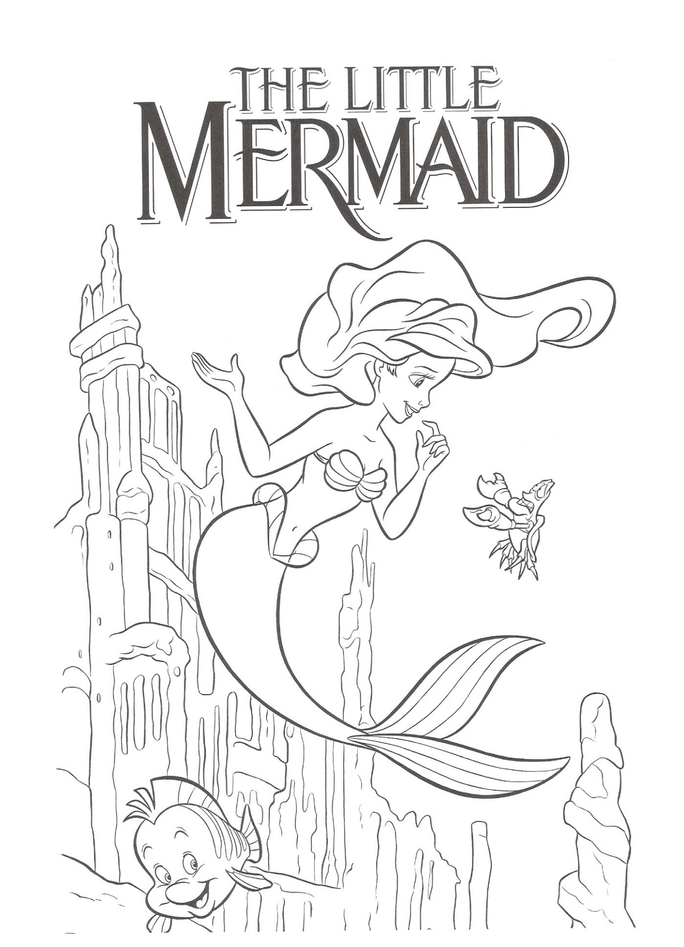 Little Mermaid Activities For Kids