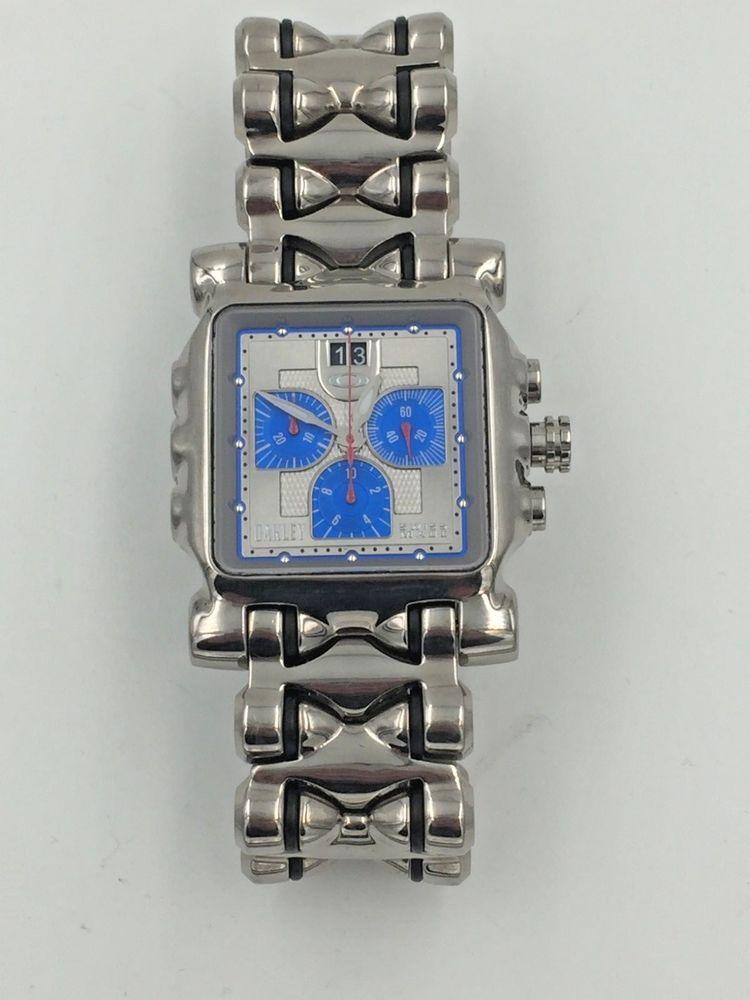 9630a737941 Men s Oakley Minute Machine 10-194 Tank Wrist Watch