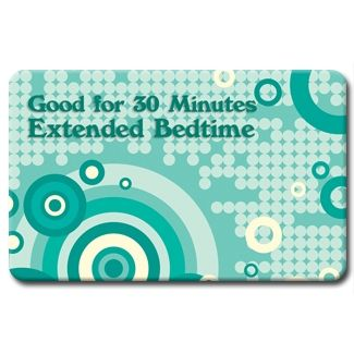 Extended Bedtime Favor Coupon kids will LOVE!!