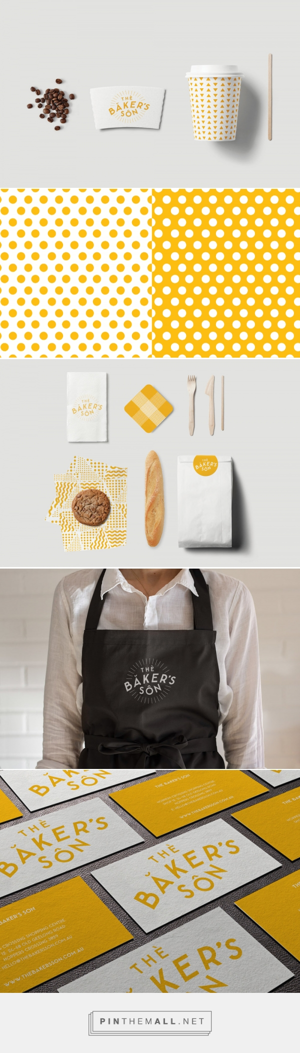 The Baker's Son's Brand Design Agency | BrandWorks... - a grouped images picture - Pin Them All