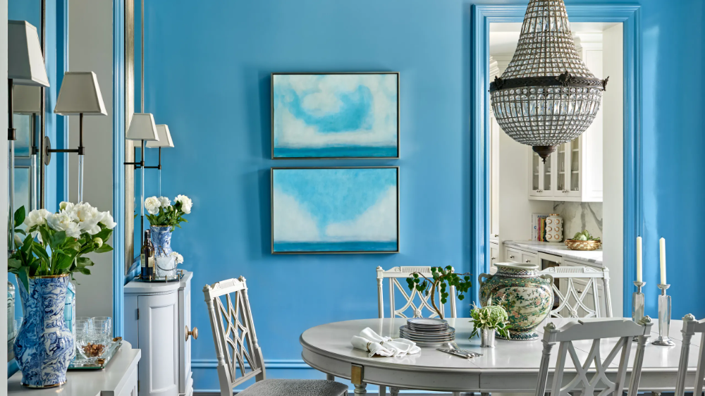 Why I Love Fine Paints of Europe's Cerulean Blue Paint Color | Architectural Digest