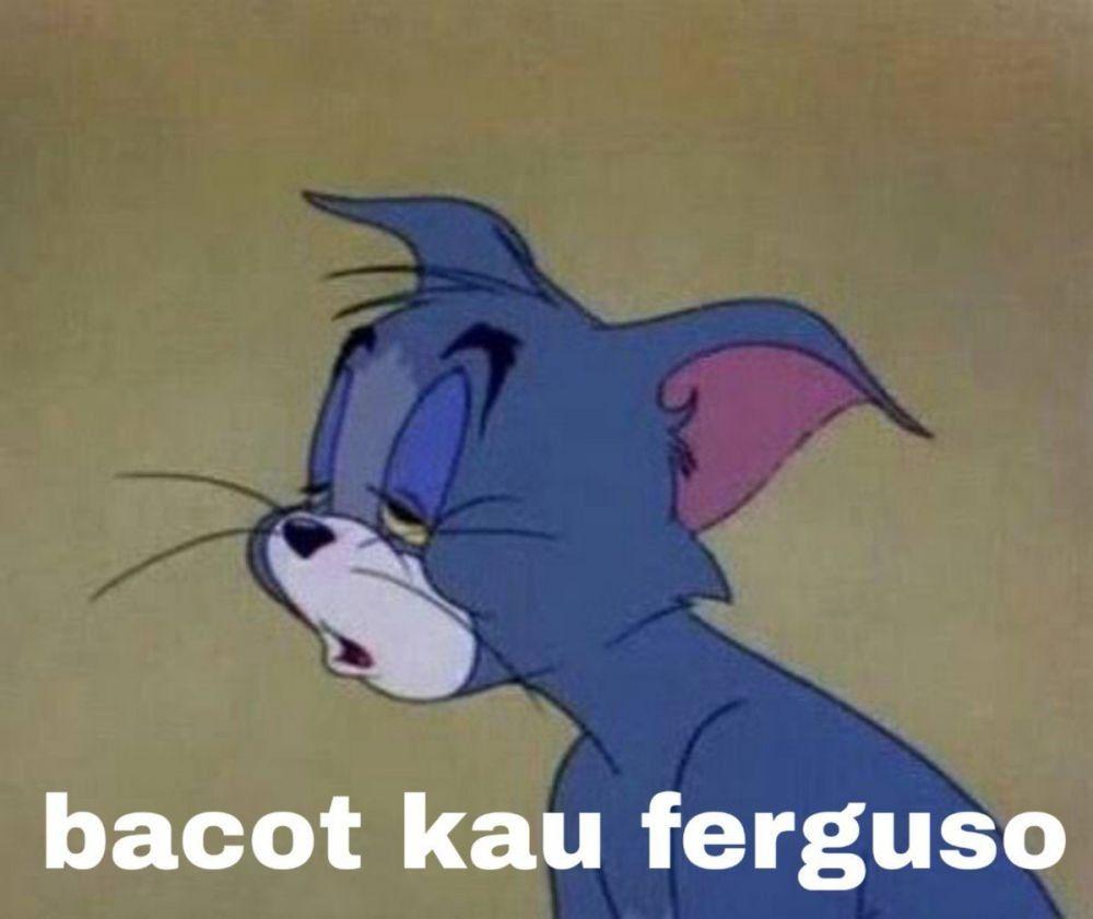 Bacot Kau Ferguso Art In 2019 Memes Funny Faces Meme Indonesia
