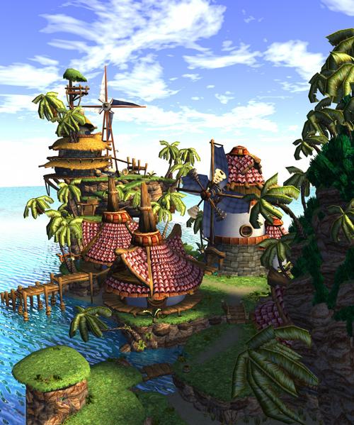 9 Best Jak And Daxter Sandover Village Project Images Jak Daxter Village Environment Concept