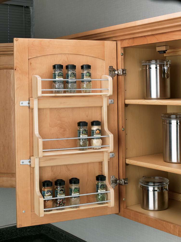 Back Of Door Spice Rack Plans Projects Kitchen Cabinets Shelves