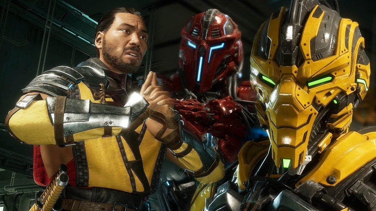 Mortal Kombat 11 Scorpion Vs Cyrax Sektor Gameplay 1080p