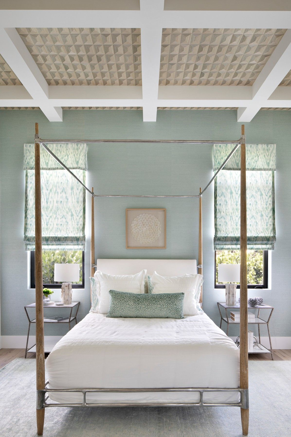Hw Interiors Cypress Island In 2020 Interior Design Blue Bedroom Interior