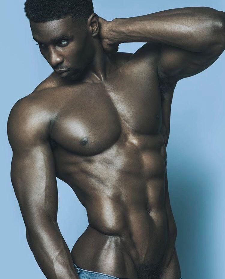 naked afro men