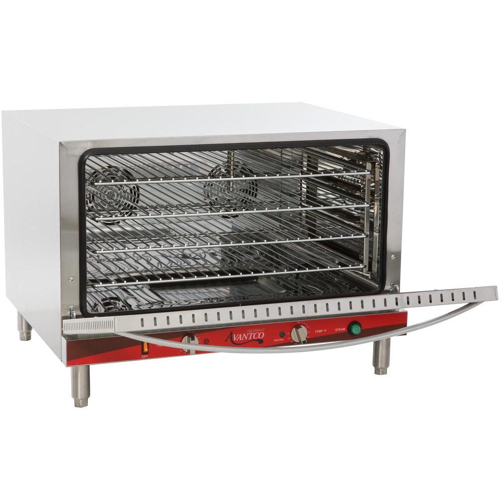 Avantco Co46 Single Deck Full Size Electric Countertop Convection