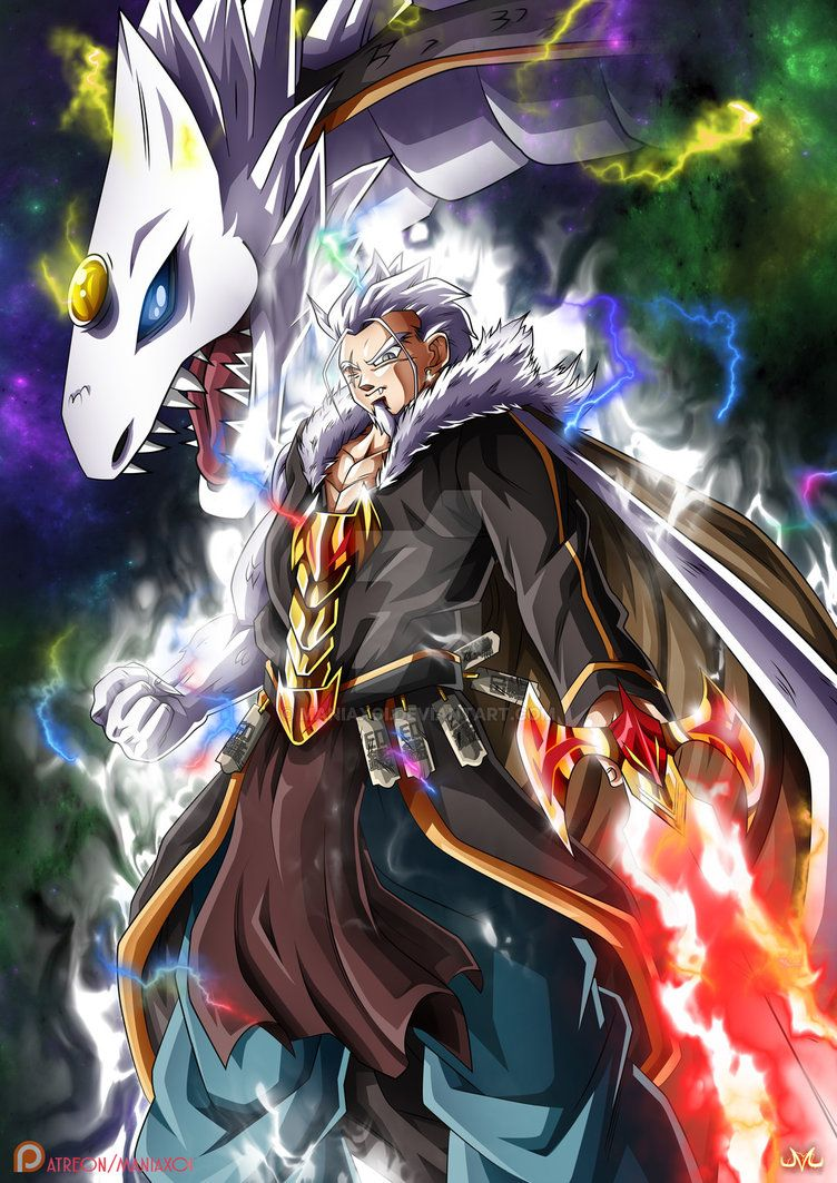 Oc 3rd Ranked Zalama Xialong By Maniaxoi Dragon Ball Content