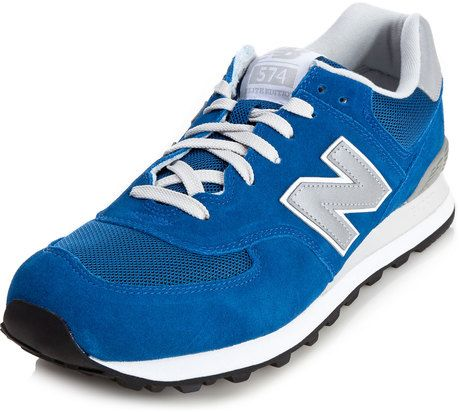 98ff6d2bff New Balance 574 Running Sneakers in Blue - Lyst | In my closet | New ...