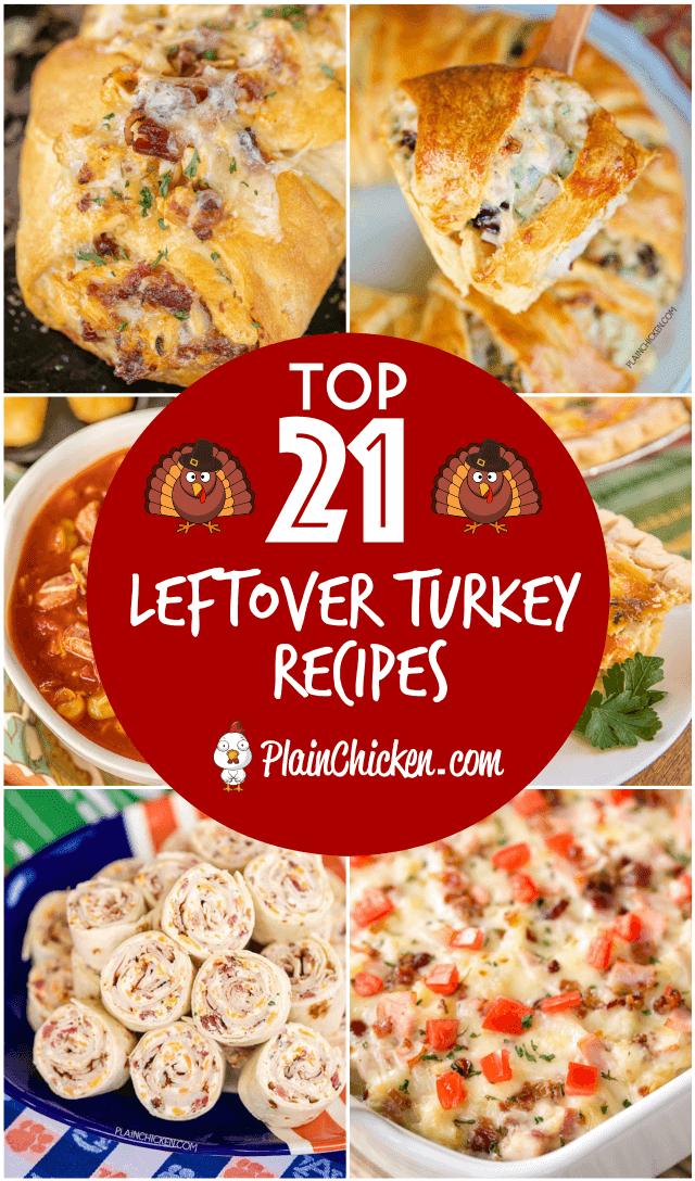 Photo of Leftover Turkey Recipes