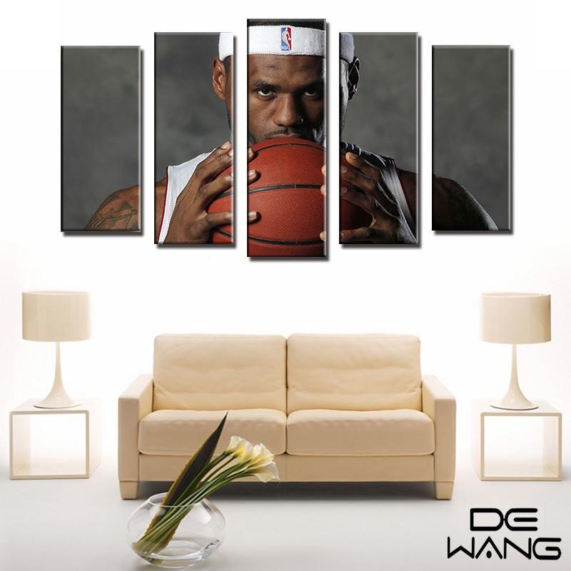 Nba Art Lebron James 59 99 259 95 Basketball Wall Art Wall Canvas Canvas Wall Art