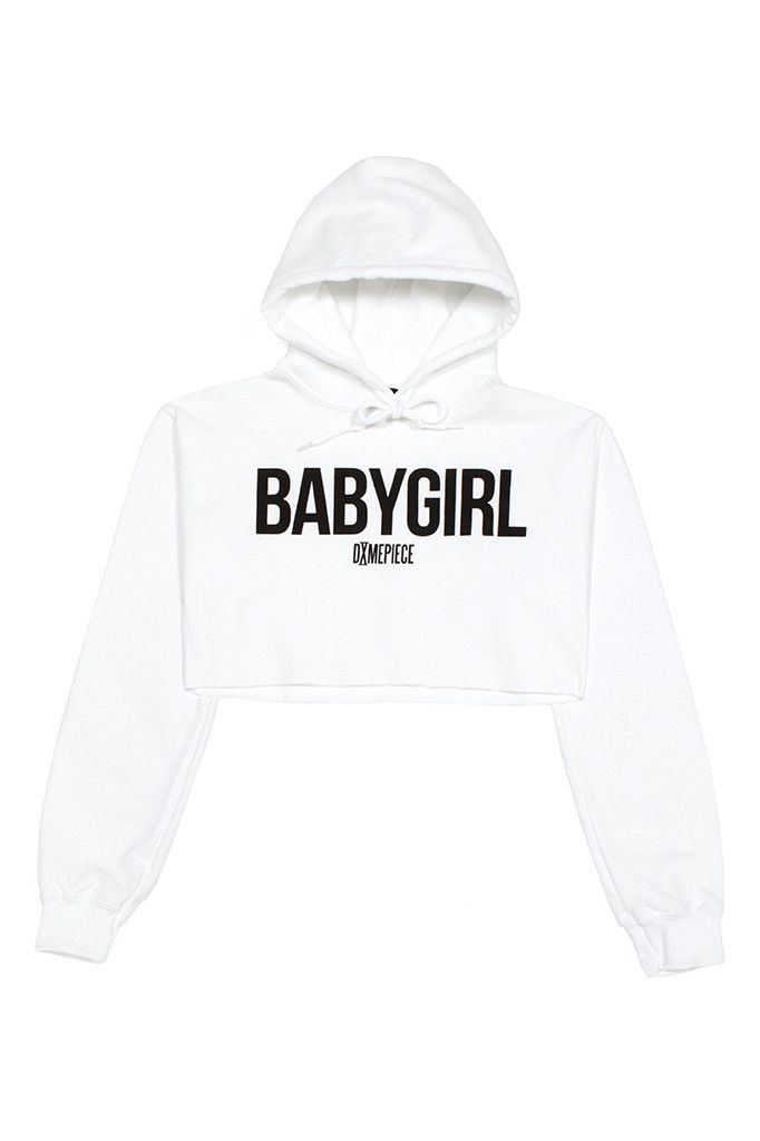 fb4362cb2b3 BABYGIRL CROPPED HOODIE | F$HN | Trendy outfits, Cropped hoodie, Fashion