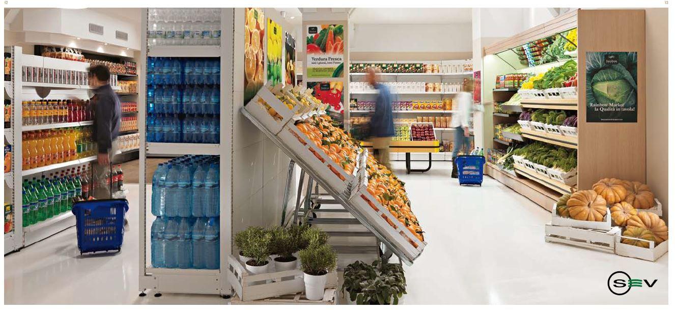 Expositor De Frutas Para Supermercados Equipamiento Comercial  ~ Expositores Para Tiendas Segunda Mano