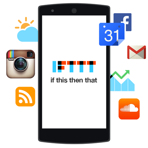IFTTT Introduces Android App - http://dashburst.com/ifttt-introduces-android-app/