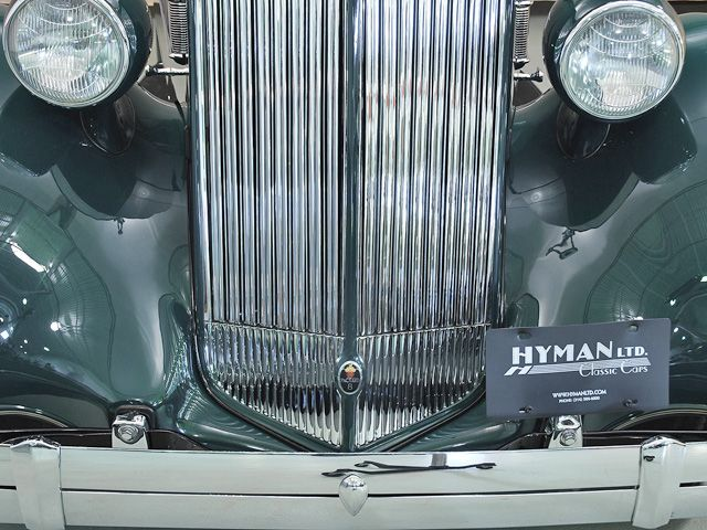 1936 Packard Eight Phaeton Grille Detail View
