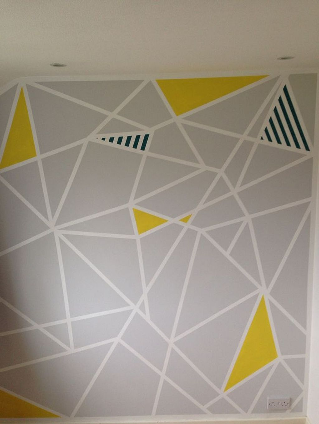 48 Colorful Wall Paint Pattern Ideas You Would Like Wall Paint Patterns Wall Patterns Wall Paint Designs