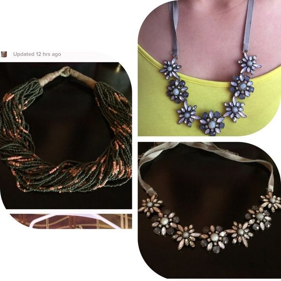NWOT LOFT NECKLACES NEVER WORN both from Ann Taylor loft LOFT Jewelry Necklaces