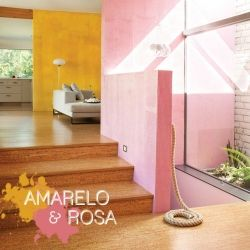Decor that blends pink and yellow. Photos by Dwell Magazine.