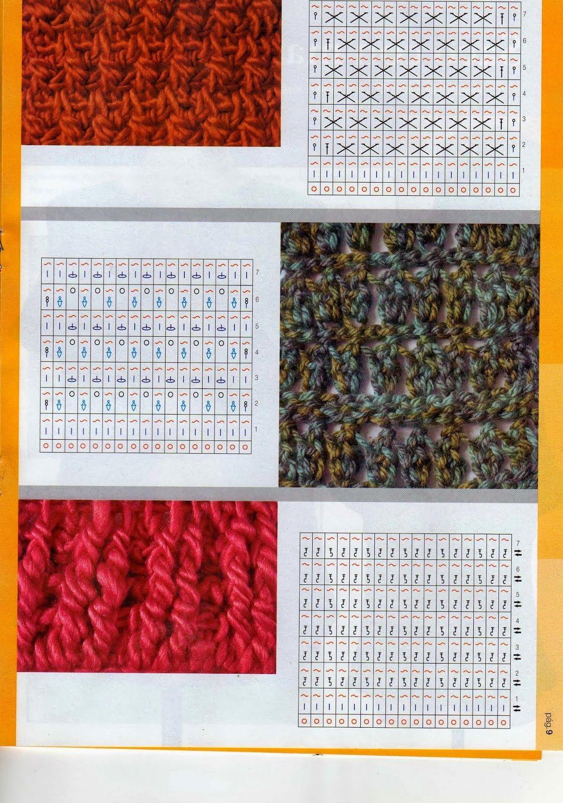 img529.jpg (1122×1600) | Puntadas | Pinterest | Crochet tunecino ...