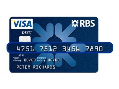 Rbs Card Activation Visa Card Numbers Credit Card Online Visa Gift Card