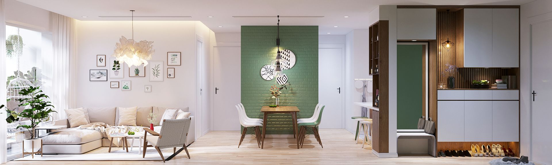 Modern Scandinavian Style Home Design For Young Families 2 Examples Scandinavian Style Home House Design Modern House Design
