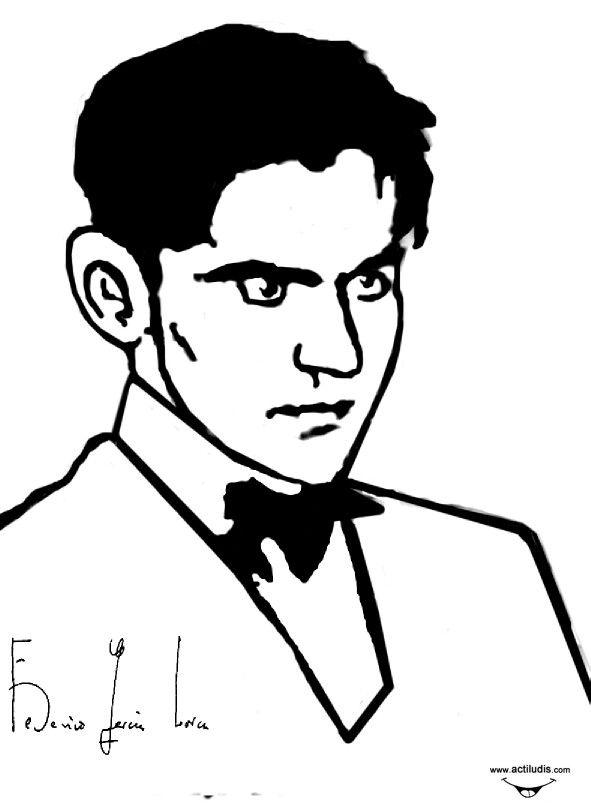 Pin de Mari Carmen Garcia Blanes en Federico Garcia Lorca, | Sketches
