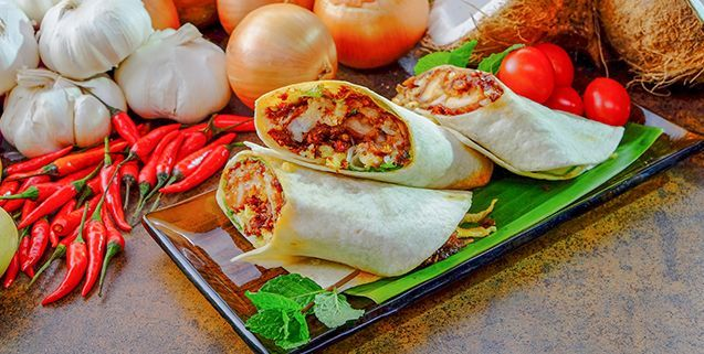 Nasi lemak burrito asian food channel recipes to cook nasi lemak burrito asian food channel forumfinder Image collections