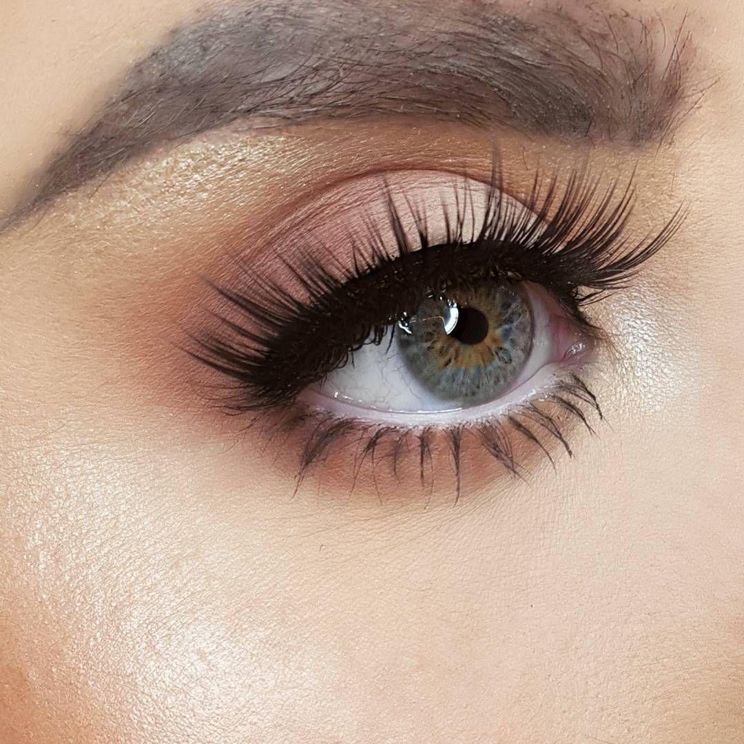 Makeup Artist Hannahhillmakeup Using Gwas Merbabe False Eyelashes