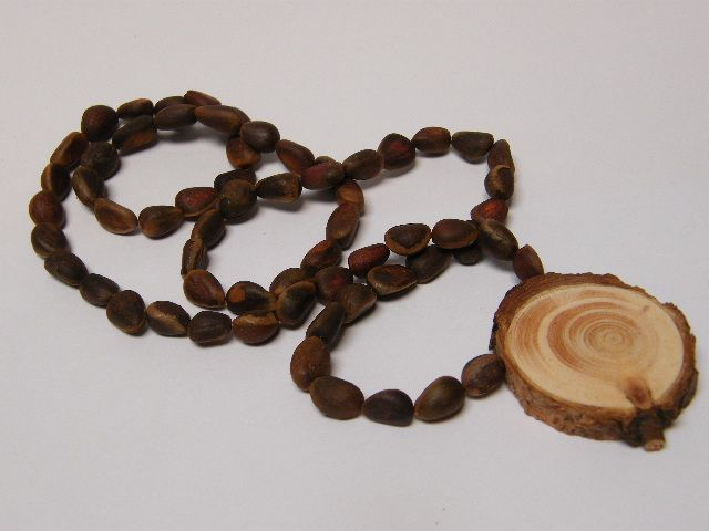Cedar beads with pendant ringing cedars magpies treasure nest cedar beads with pendant ringing cedars aloadofball Image collections