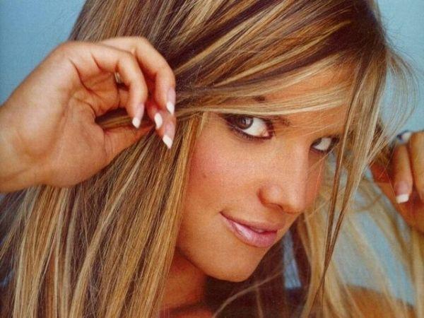 Blonde Hair With Dark Lowlights Honey Toffee Chestnut Brown And