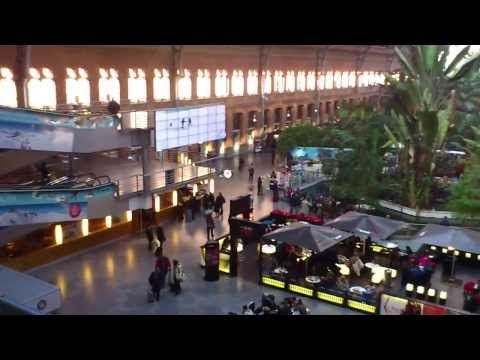 Madrid Train Station Atocha - YouTube