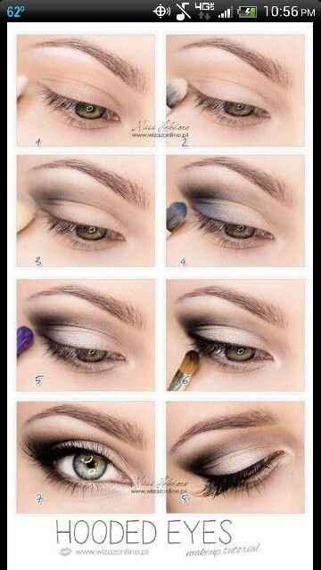 Top 10 Simple Makeup Tutorials For Hooded Eyes   Beauty